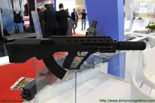 Ukraine made Malyuk assault rifle makes first public appearance at ADEX 2016 640 001