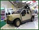 The new version of local-made light intelligence tactical patrol vehicle Gurza 2 was unveiled for the first time to the public at ADEX 2014, International Defense Industry Exhibition in Baku, Azerbaiajan. As the first version of Gurza patrol vehicle, the new version is also based on Toyota Hilux 12 double cab pickup chassis equipped with 4x4 all-wheel drive and a maximum payload of 2,500 kg.