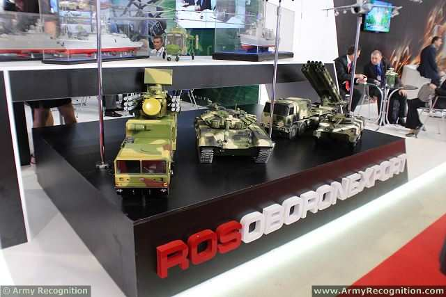 Russian defense industry presents bmpt 72 fire support for International azerbaijan decor expo