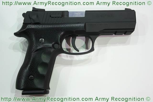 Three pistols manufactured in Azerbaijan accepted as basic