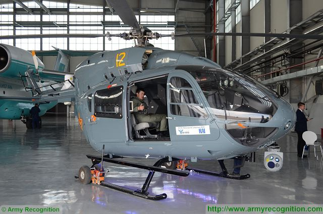 BIRD Aerosystems showcases the ASIO Special Mission System mounted on the Kazakhstan Armed Forces EC-145 helicopter with Kazakhstan Aviation Industry (KAI) at KADEX Defence Exhibition. BIRD Aerosystems specializes in the developing and deploying of two main product lines: Airborne Missile Protection Systems (AMPS) and Airborne Surveillance, Information and Observation (ASIO) solutions.