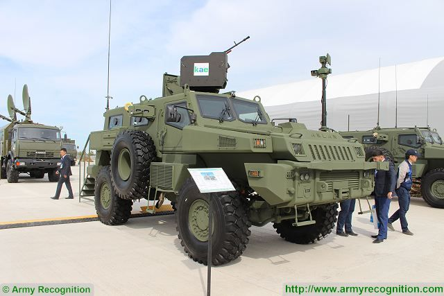 Latest variants of the Arlan 4x4 armoured vehicle are presented by Kazakhastan Paramoiunt Engineering (KPE) at KADEX 2016, the Kazakhstan defense exhibition. In December 2015, the South African based Company Paramount Group has announced the opening of a new armoured vehicle factory in the Central Asian republic of Kazakhstan.