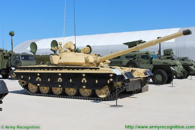 Elbit Systems modernization package T-72 MBT KADEX 2016 Astana Kazakhstan 001