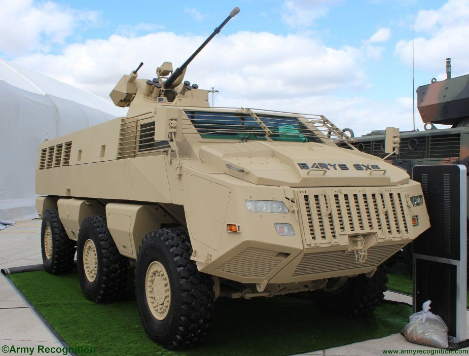 BARYS 6X6 with BTR 82A Turret KADEX 2018