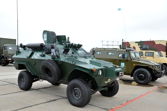 Turkey's leading armored vehicles manufacturer, Otokar, will launch a production line in Kazakhstan, the company said in a statement. A memorandum of understanding for the venture was signed Oct. 12 in Istanbul during the Turkish-Kazakh Investment and Commerce Forum, the statement said. The deal was witnessed by Turkish Prime Minister Recep Tayyip Erdogan and Kazakhstan President Nursultan Nazarbayev.