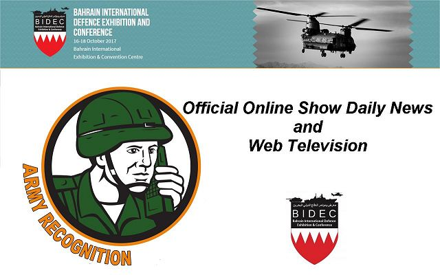 Army Recognition appointed by BIDEC 2017 as Official Online Show Daily News Official Web TV 640 001