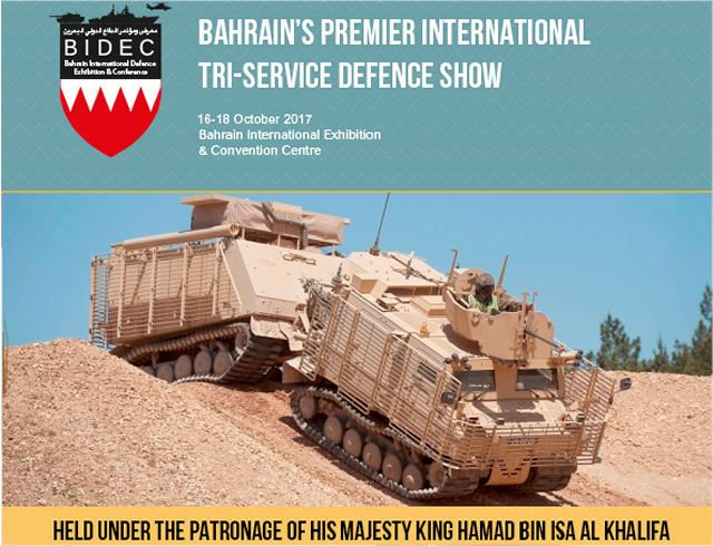 The inaugural BIDEC Tri-Service Defence Show in Bahrain presents a brand new opportunity for exhibitors to showcase the latest technology, equipment and hardware across land, sea and air. Education and military expenditures take the top two spots in Saudi Arabia's 2017 budget, which estimates a spending of SR890 billion ($237.3 billion), an 8% increase from 2016.
