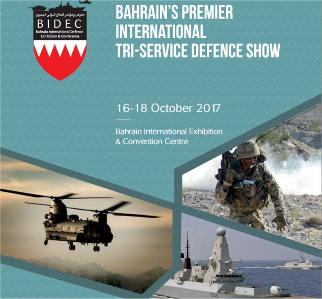 BIDEC 2017 Official Web TV Television video pictures photos images Bahrain International Defense Exhibition Conference BIECC Manama army military industry technology
