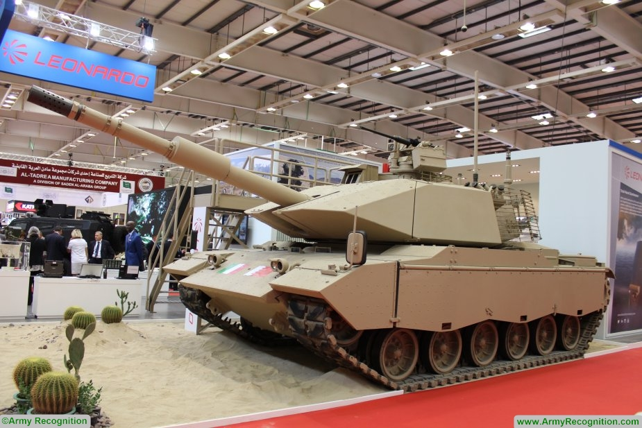 Leonardo presents its M60A3 upgrade and overhaul programme at BIDEC 2017 925 001