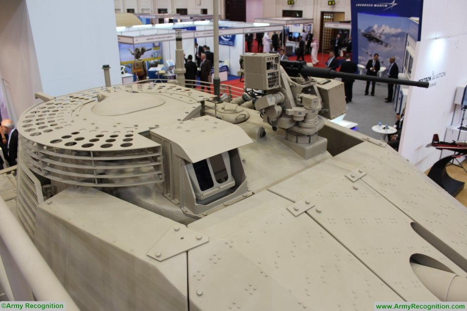Leonardo presents its M60A3 upgrade and overhaul programme at BIDEC 2017 925 002