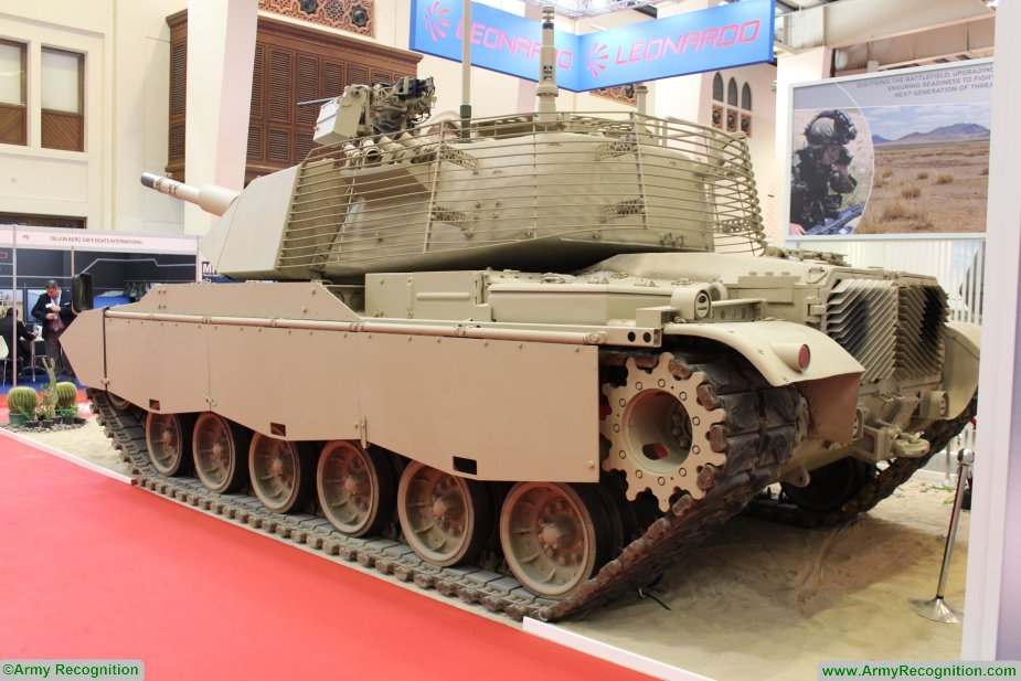 Leonardo presents its M60A3 upgrade and overhaul programme at BIDEC 2017 925 003