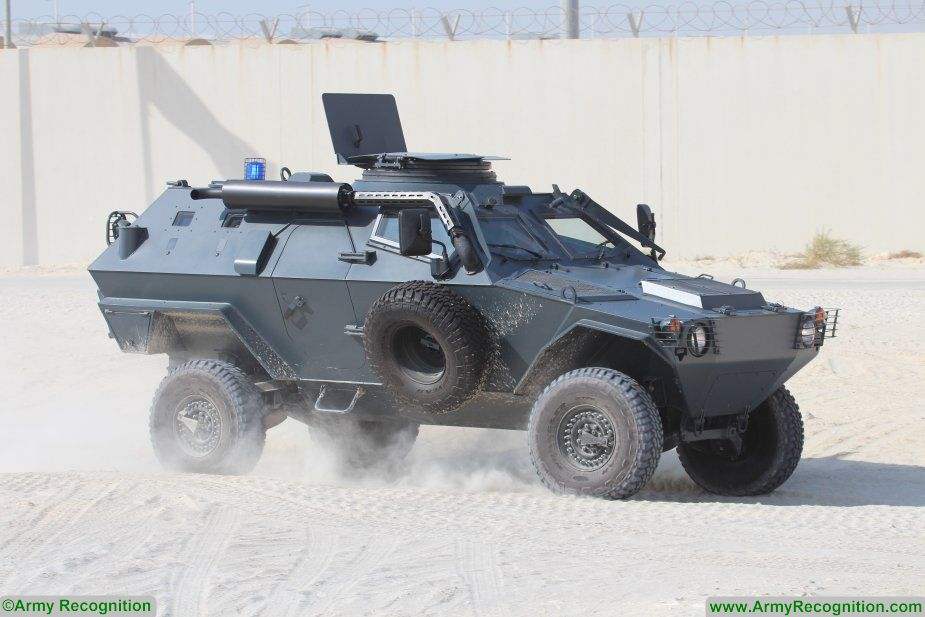 Otokar displays its ARMA 6x6 URAL and COBRA armoured vehicles at BIDEC 2017 925 002