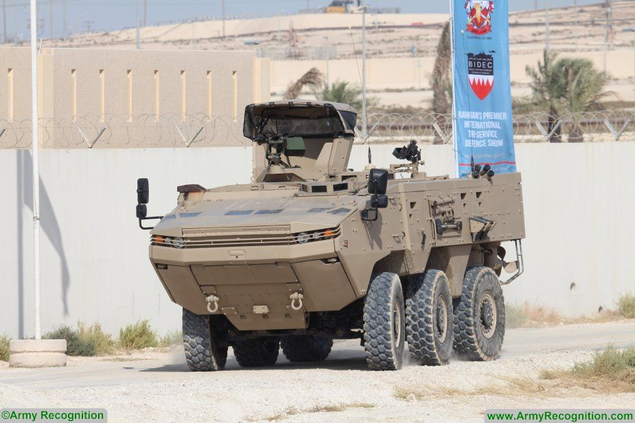 Otokar displays its ARMA 6x6 URAL and COBRA armoured vehicles at BIDEC 2017 925 003