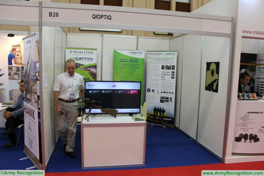 Qioptiq showcases its sniper thermal sights at BIDEC 2017 925 001