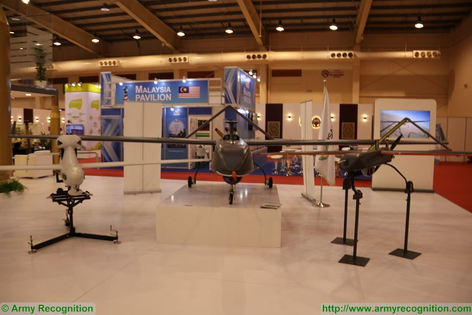 Saudi Arabia presents its local made Skyguard UAV at BIDEC 2017 first edition of Bahrain defense Exhibition 925 001