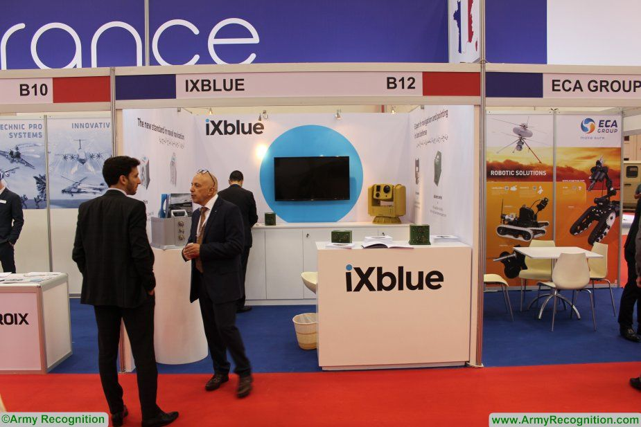 iXblue showcases its latest technological innovations for Naval and Land defense applications at BIDEC 2017 925 001