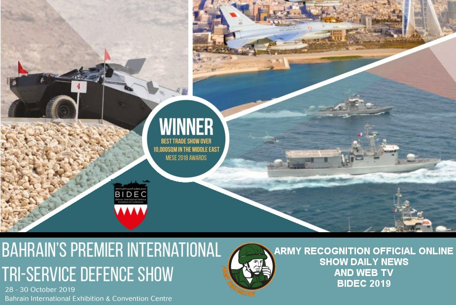 Army Recognition Official Show Daily News Web TV BIDEC 2019 Bahrain defense exhibition 925 001