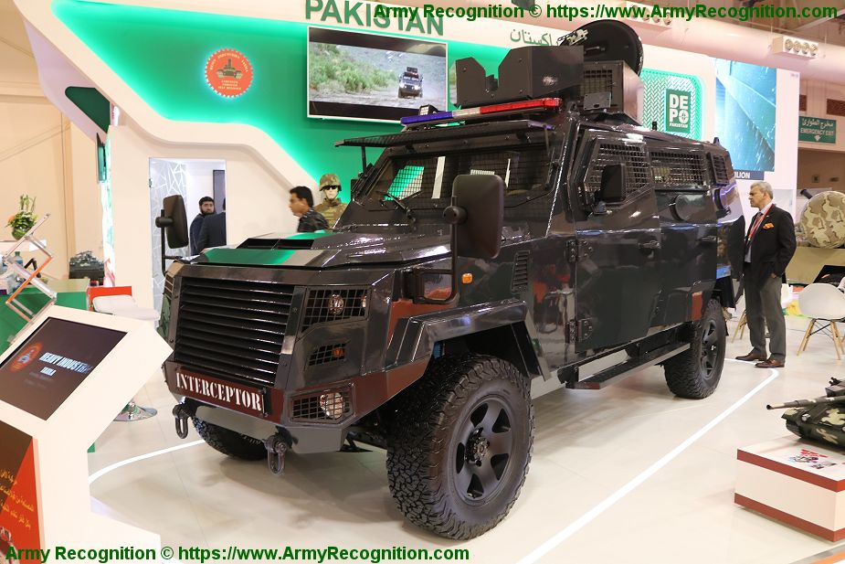 Cavalier Group from Pakistan has delivered 6 Interceptor vehicles to Bahrain National Guard BIDEC 2019 925 001