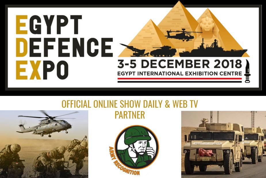 Army Recognition Official Online Show Daily News and Web TV EDEX 2018 defense exhibition Egypt 925 001