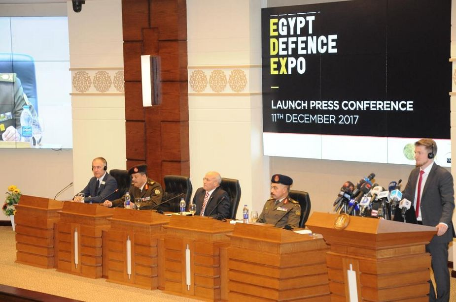 EDEX 2018 New Egypt Defense Exhibition in Cairo for December 2018 press conference 925 001