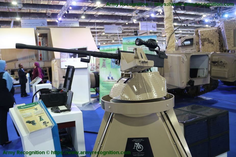 EDEX 2018 AIO integration system for remotely controlled weapon station