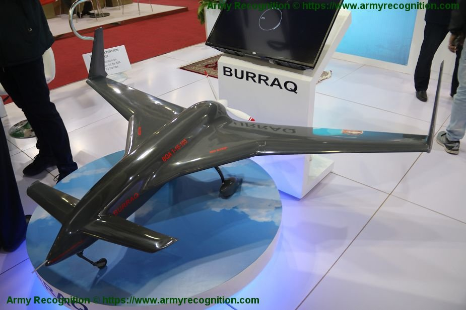 EDEX 2018 Pakistan NESCOM displays its Buraq UCAV drone