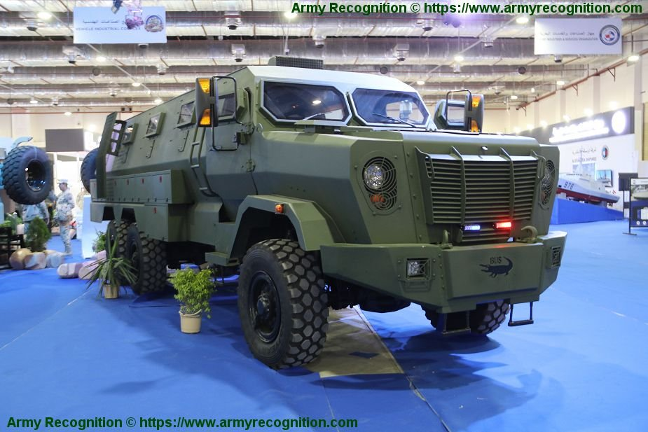 EDEX 2018 Temsah 6x6 armored Bus