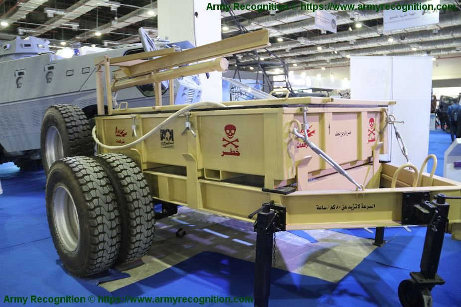 EDEX 2018 anti tank mine clearing system Fateh 2