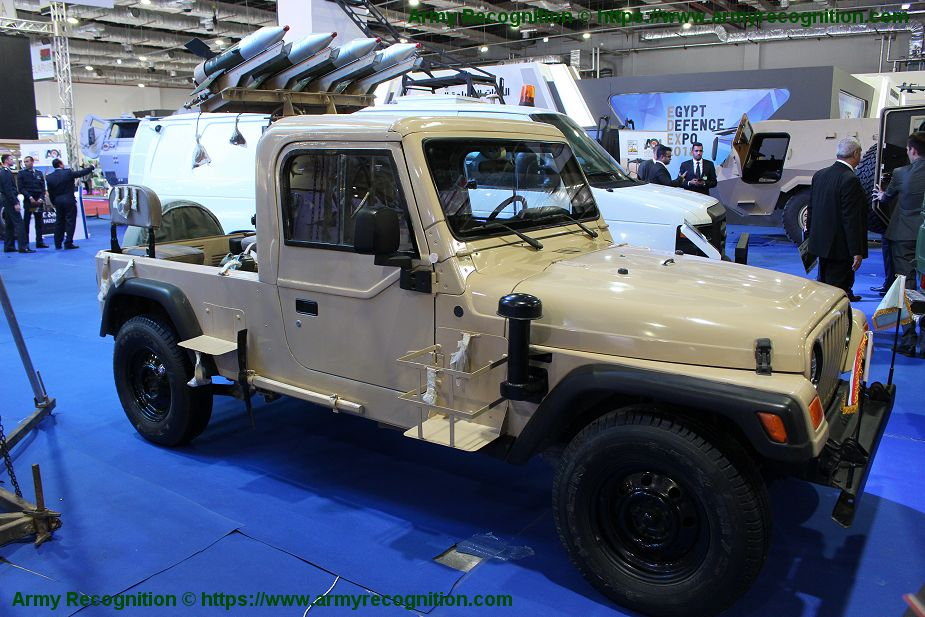 anti tank missile launcher Sagger on Jeep vehicle picture 001