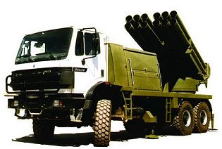 Fadjr-3 RAAD 240mm multiple rocket launcher system  technical data sheet specifications description information intelligence identification pictures photos video Iran Iranian army defence industry military technology