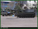 Iranian army has presented Sunday, April 20, 2014, a 155mm self-propelled howitzer dubbed Hoveyzeh which is based on the American-made M109A1. The Hoveyzeh is a rebuilt M-109A1 which has been built using scraped and decommissioned M-109s. Many parts of the vehicle are manufactured by the Iranian army defense industry.