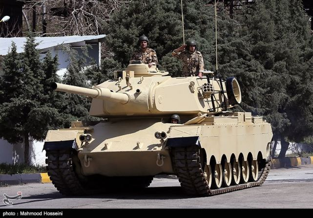 Iran has unveiled the latest local-made main battle tank ...
