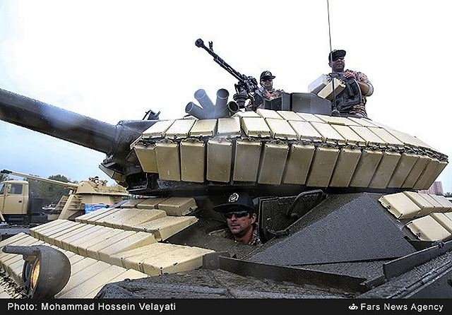 Iran has unveiled new home-made main battle tank called TIAM