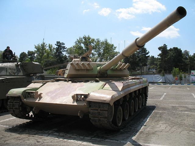Zulfiqar-1 (Zolfaqar) Iranian-made main battle tank
