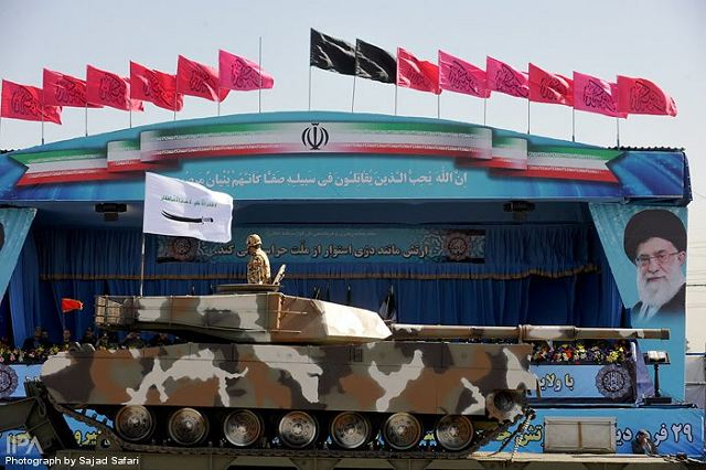 Iranian-made Zulfiqar-2 main battle tank