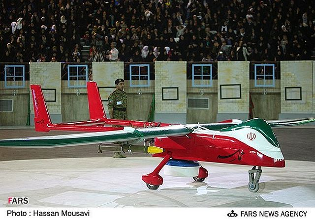 Iran displayed its most advanced Unmanned Aerial Vehicle (UAV) designed and manufactured by the country's engineers. The stealth drone, named Hemaseh (Epic), was unveiled on Thursday evening in a special ceremony in the presence of Defense Minister Brigadier General Ahmad Vahidi. The ceremony was held on the sidelines of a conference to commemorate the defense ministry's martyrs.