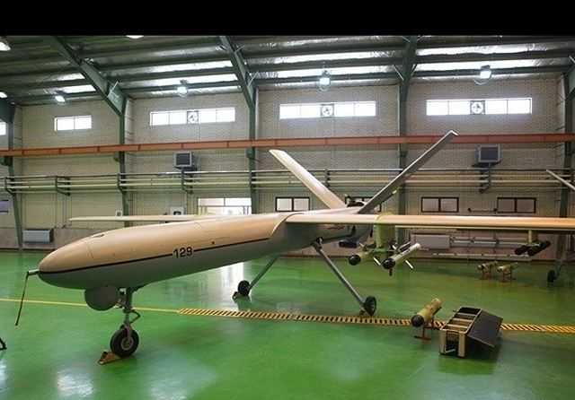 "Iran's new unmanned aerial vehicle (UAV) Shahed 129 enjoys a very long flight time and a high Maximum Operating Altitude, Lieutenant Commander of the Islamic Revolution Guards Corps (IRGC) Brigadier General Hossein Salami announced. ""The drone, Shahed 129, which enjoys high flying duration can fly for 24 hours non-stop and without any need to refueling and is also able to fire rockets at targets with a high precision capability,"" Salami told FNA on Wednesday, October 2, 2013."