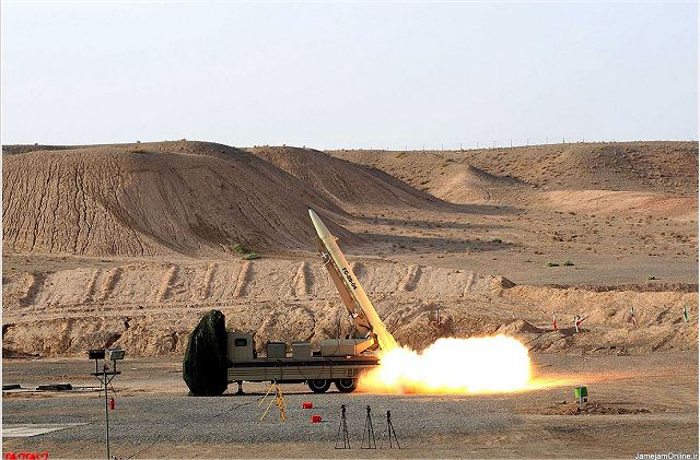 The Iranian authorities announced they had successfully fired as part of a test, a modernized version of the locally made Fateh-110 short-range ballistic missile (SRBM). According to the Defence Minister, the missile is now capable to reach targets at sea thanks to a new upgrade.