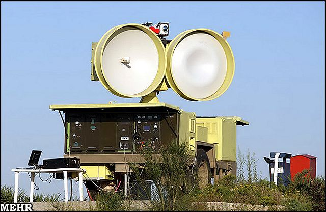 Mersad air defence system Shahin missile HPIR High Power Illuminator Radar