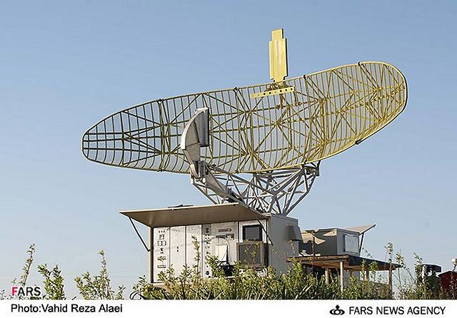 Mersad air defence system Shahin missile PAR Pulse Acquistion Radar