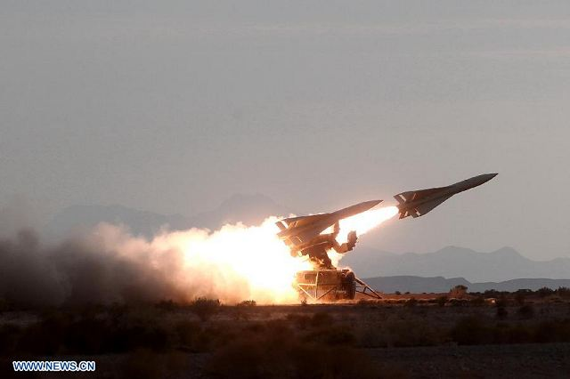 Iranian Army Has Test Fired A Range Of Missiles During