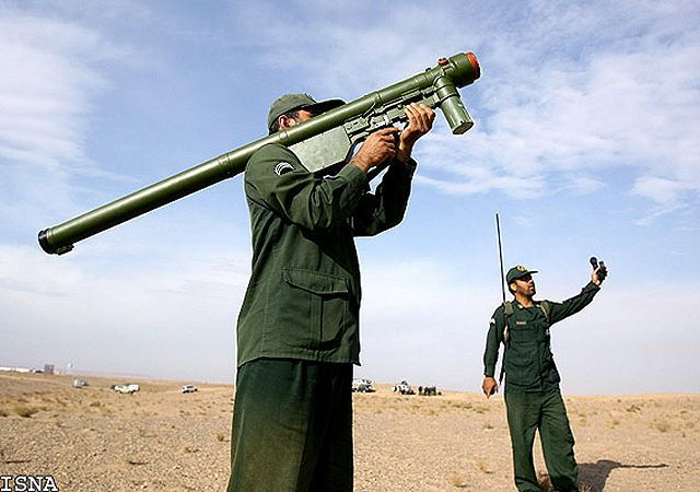 Misagh-1 man portable air defence missile system technical data sheet specifications description information intelligence identification pictures photos video Iran Iranian army defence industry military technology manpad