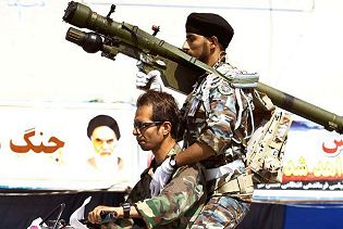 Misagh-2 man portable air defence missile system technical data sheet specifications description information intelligence identification pictures photos video Iran Iranian army defence industry military technology manpad