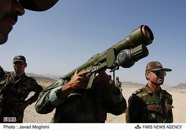 Misagh 2 Man Portable Air Defence Missile System Technical