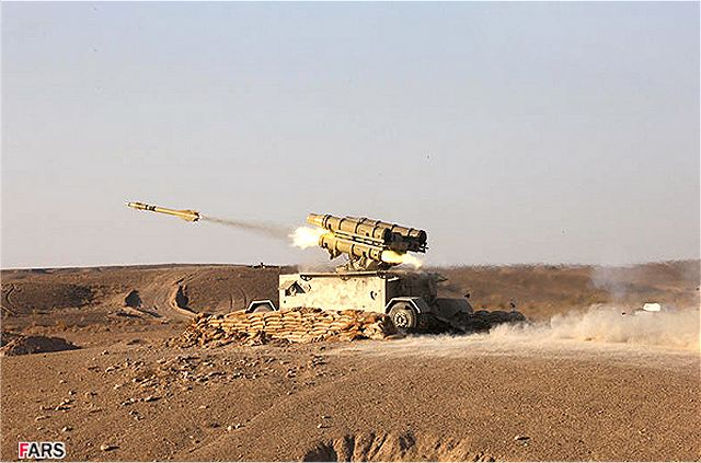 Shahab Thaqeb Tagheb FM-80 HQ-7 short range air defence missile system technical data sheet specifications description information intelligence identification pictures photos video Iran Iranian army defence industry military technology anti-aicraft