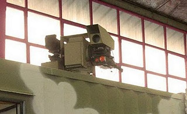 Mesbah-1 Mesbah 1 23mm towed anti-aircraft eight-cannon technical data sheet specifications description information intelligence identification pictures photos video anti-aircraft defence system Iran Iranian army defence industry military technology