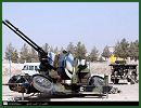 Samavat 35mm towed anti-aircraft twin-cannon Skyguard radar technical data sheet specifications description information intelligence identification pictures photos video Iran Iranian army defence industry military technology