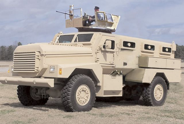 Badger Cougar Mrap Wheeled Armoured Personnel Carrier