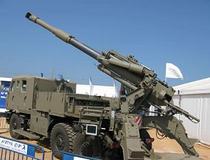 ATMOS Soltam 155 mm wheeled self-propelled howitzer vehicles technical data sheet information specification description identification intelligence pictures photos images Israel Israeli defense industry