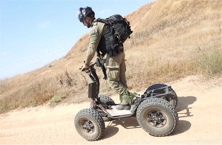 DSRaider presents new electric powered 4x4 all terrain vehicle EZRaider ISDEF 2019 Israel 925 001